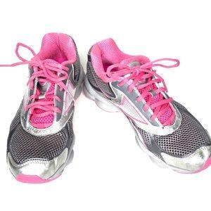 Reebok RunTone Hot Pink and Gray Running Shoes